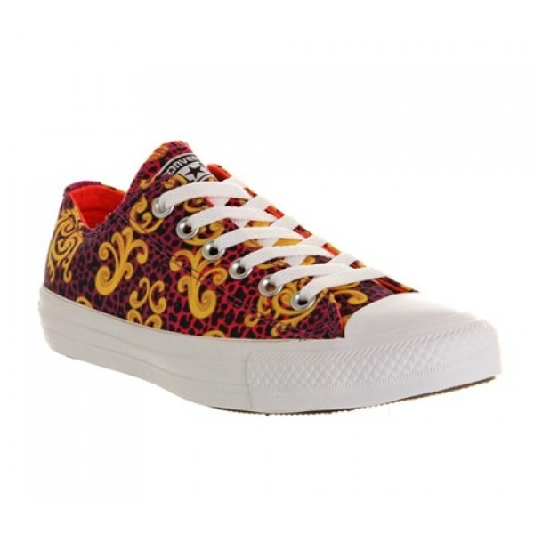 Converse All Star Low Luxe Viola Fiery Coral Unise...