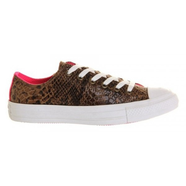 Converse All Star Low Snake Neon Pink Unisex Shoes