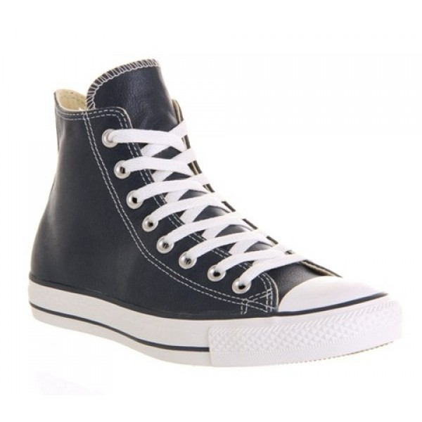 Converse All Star Hi Leather Athletic Navy Unisex ...