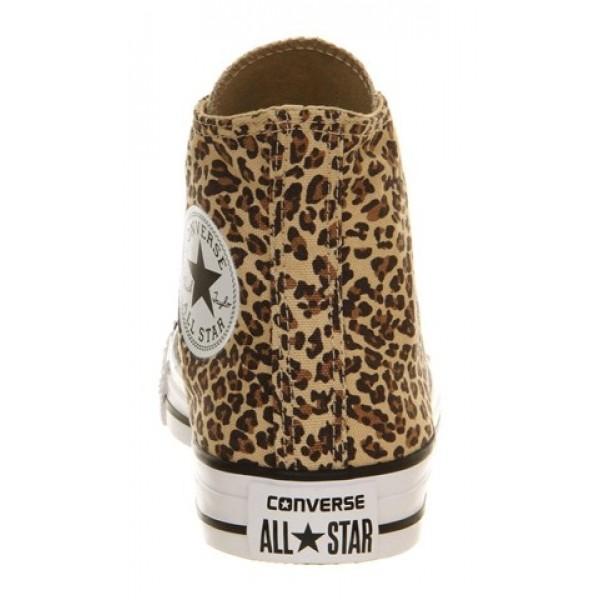 Converse All Star Hi Leopard Exclusive Unisex Shoes
