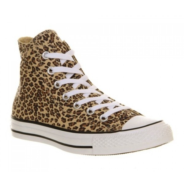 Converse All Star Hi Leopard Exclusive Unisex Shoe...