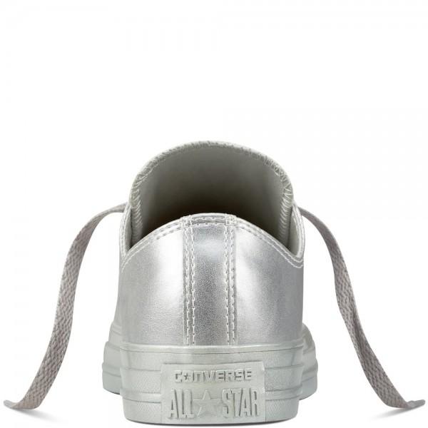 Converse Chuck Taylor All Star Liquid Metallic Silver/Silver/Silver 157663C