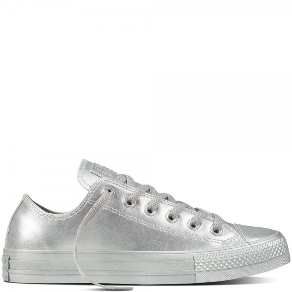 Converse Chuck Taylor All Star Liquid Metallic Sil...