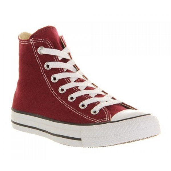 Converse All Star Hi Maroon Unisex Shoes