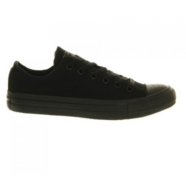 Converse All Star Low Black Mono Canvas Unisex Shoes