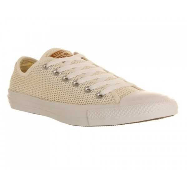 Converse All Star Low Natural Crochet Exclusive Un...