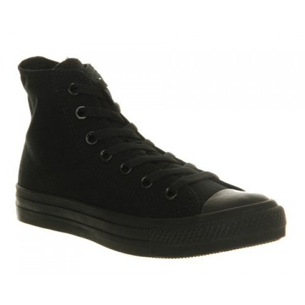 Converse All Star Hi Black Mono Canvas Unisex Shoe...