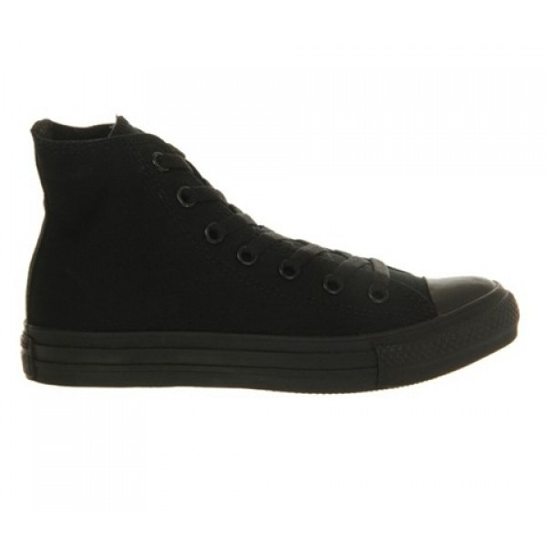 Converse All Star Hi Black Mono Canvas Unisex Shoes