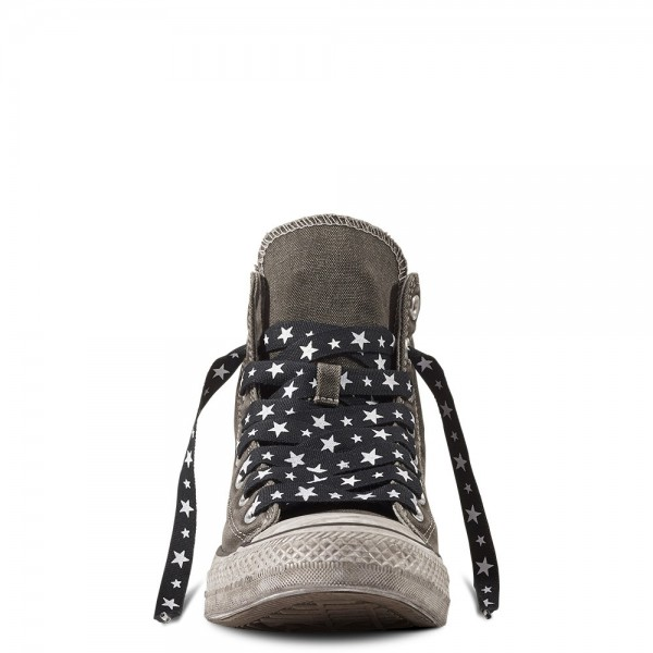 Converse Chuck Taylor All Star Army Patchwork Women's Shoe Charcoal/Black/White 158621C