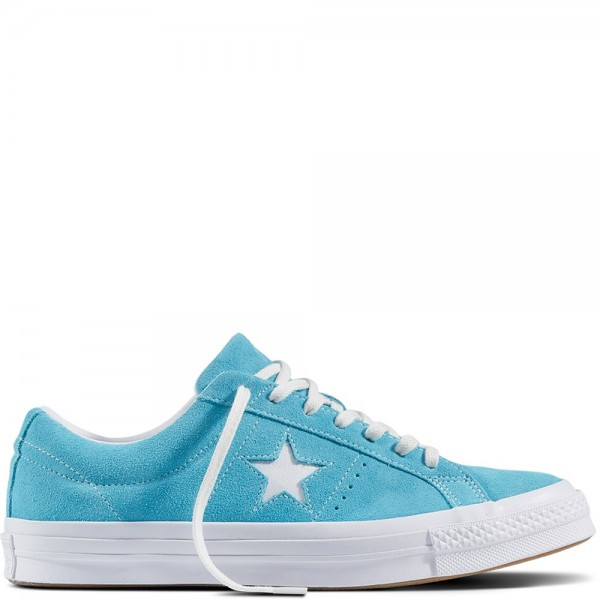 Converse One Star Spring/Easter Suede Fresh Cyan/W...