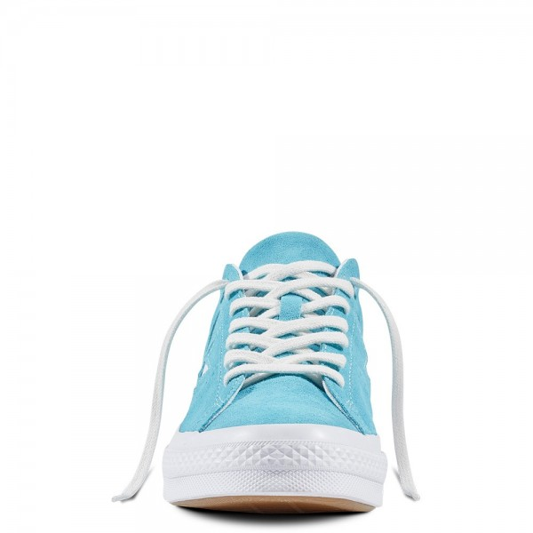 Converse One Star Spring/Easter Suede Fresh Cyan/White/White 158437C