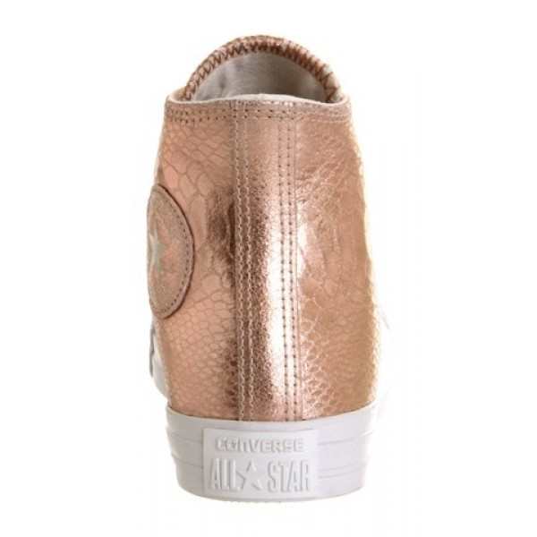 Converse All Star Hi Rose Gold Snake Women's Shoes