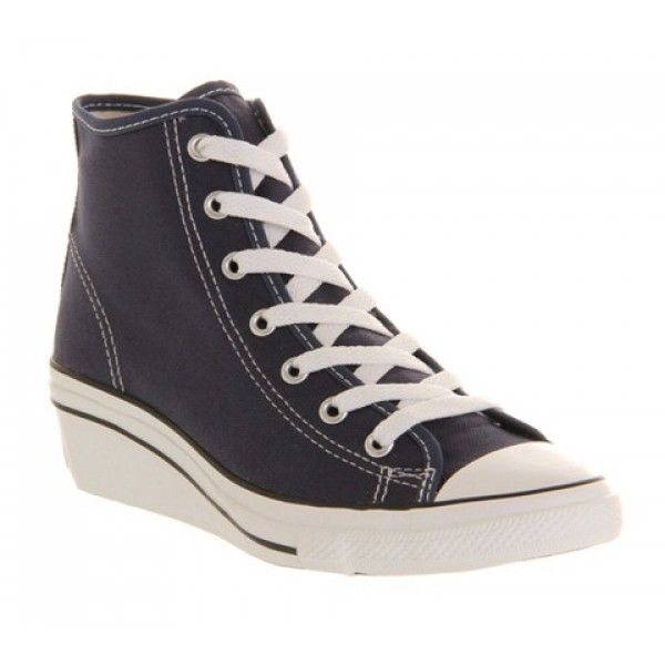 Converse All Star Hi-Ness Navy Women's Shoes
