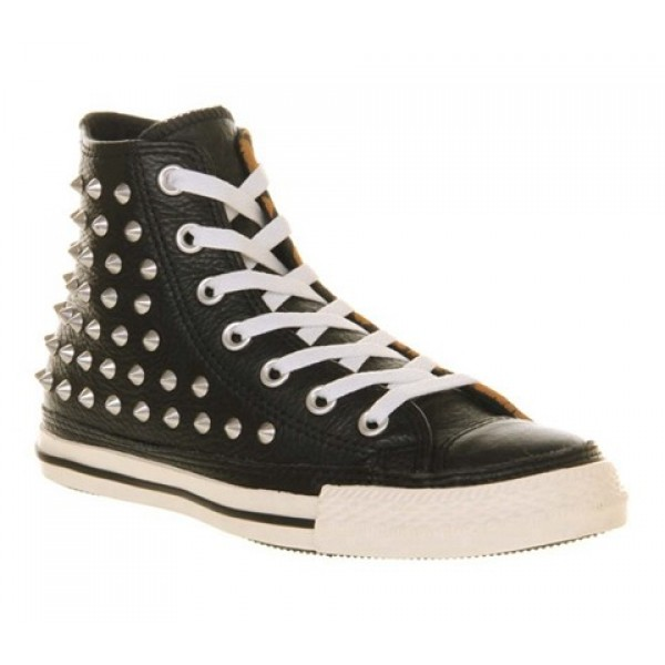 Converse All Star Hi Leather Studded Leather Anima...