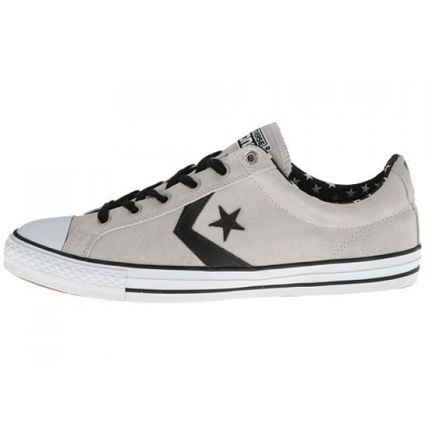 Converse All Star Player Skate Ox Gray Men's Shoes