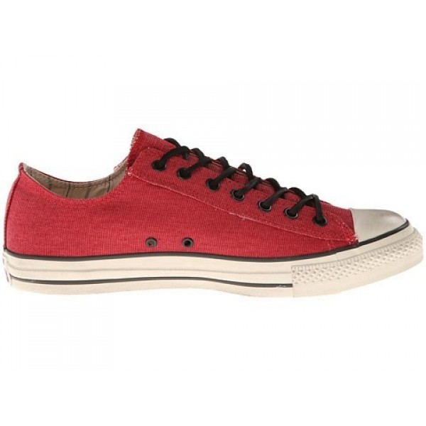 Converse All Star Ox - Stud Closure Canvas Red White Men's Shoes