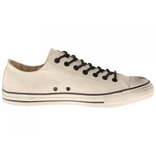 Converse All Star Ox - Stud Closure Canvas White M...