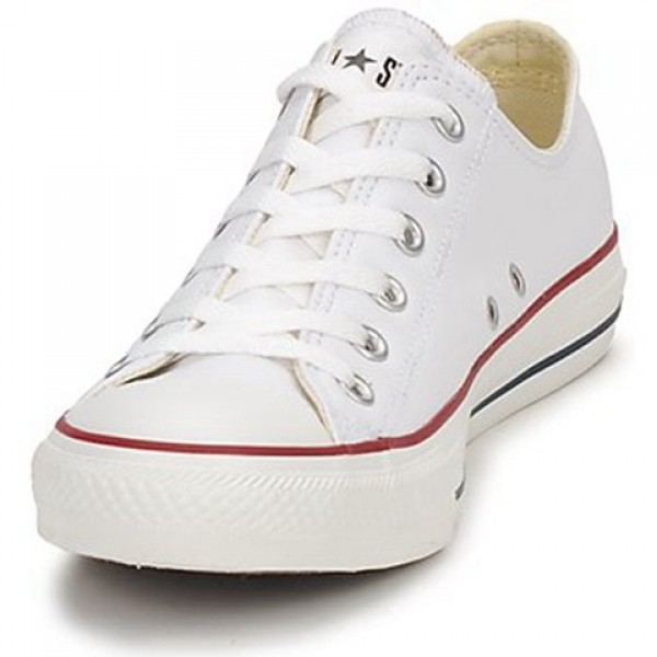 Converse All Star Leather Ox White Men's Shoes