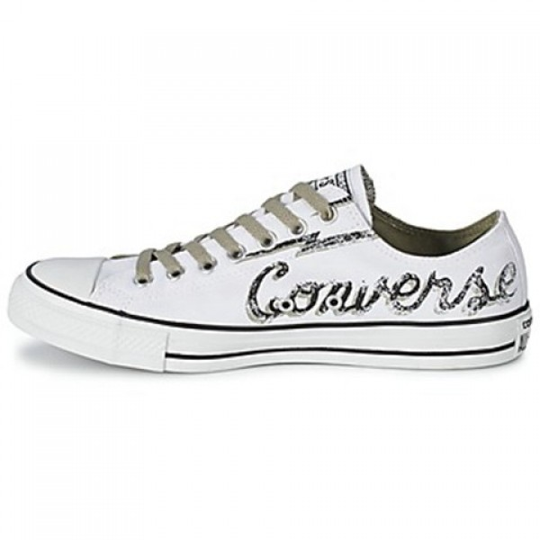 Converse All Star Seasonal Plus Branded Ox White Men's Shoes
