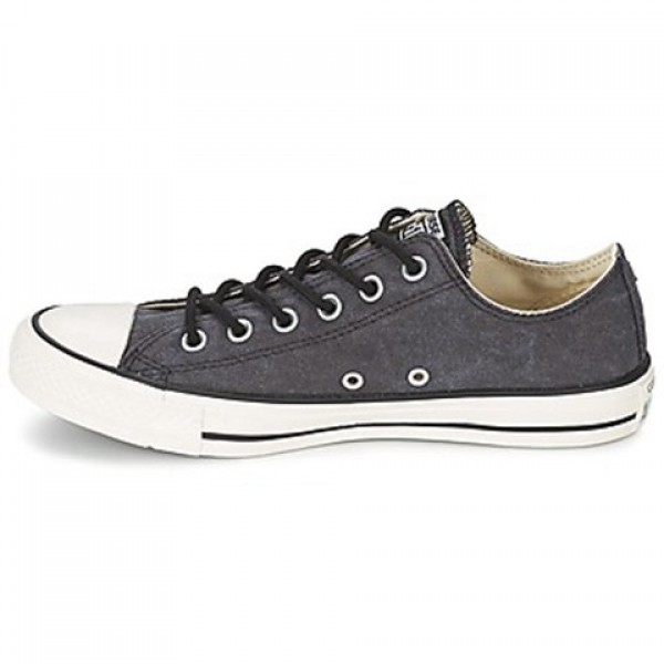Converse All Star Basic Wash Ox Black Men's Shoes