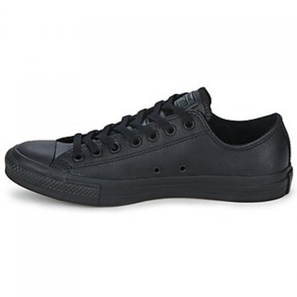Converse All Star Leather Ox Black Men's Shoes