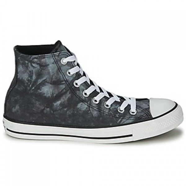 Converse All Star Tie Dye Hi Black White Men's Sho...