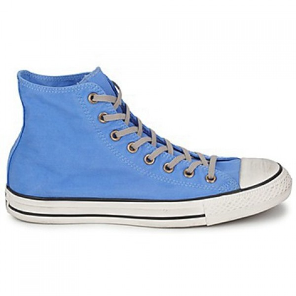 Converse All Star Well Worn Hi Blue Men's Shoes