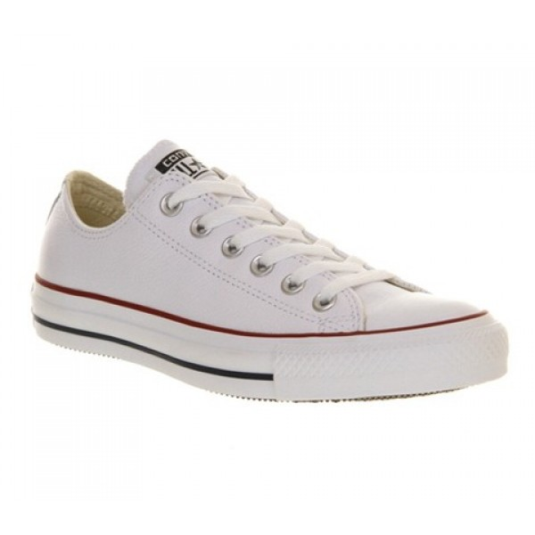 Converse All Star Low Leather Optical White Unisex...