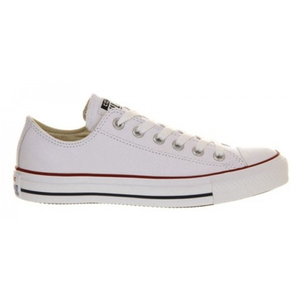 Converse All Star Low Leather Optical White Unisex Shoes