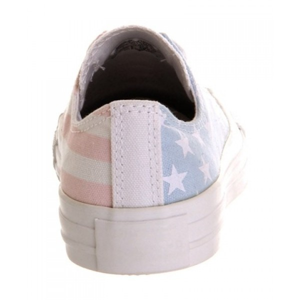 Converse All Star Low Faded Stars And Bars Unisex Shoes