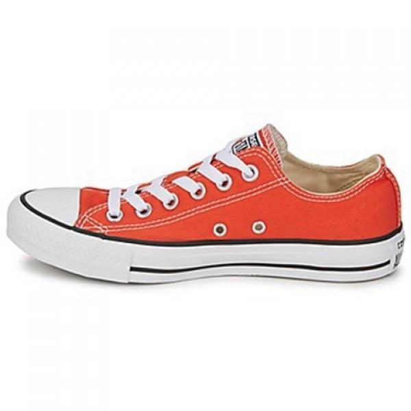 Converse All Star Season Ox Orange Pumpkin Men's Shoes