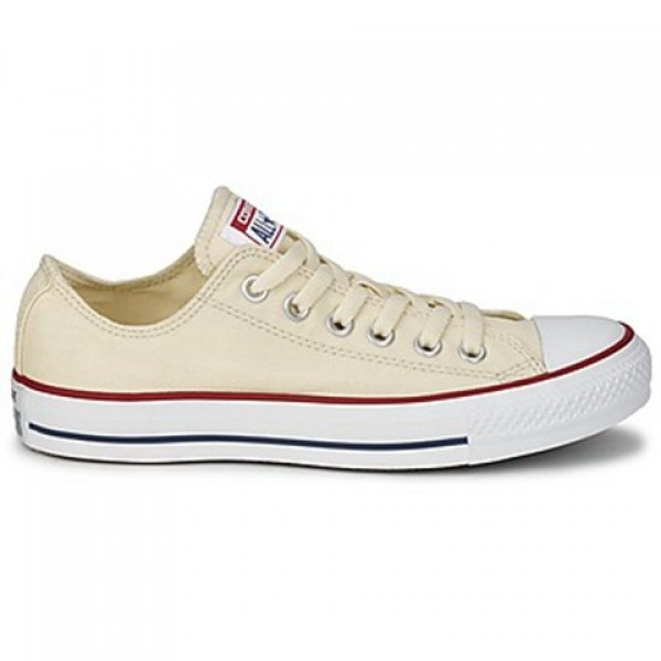 Converse All Star Core Ox White Beige Men's Shoes
