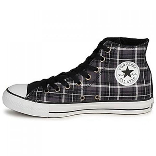 Converse All Star Classic Plaid Hi Rabbit Vaporous Grey Men's Shoes