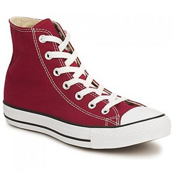 Converse All Star Hi Bordeaux Men's Shoes
