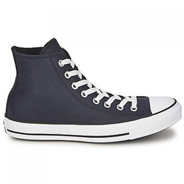 Converse All Star Seasonal Leather Hi Deep Well Me...