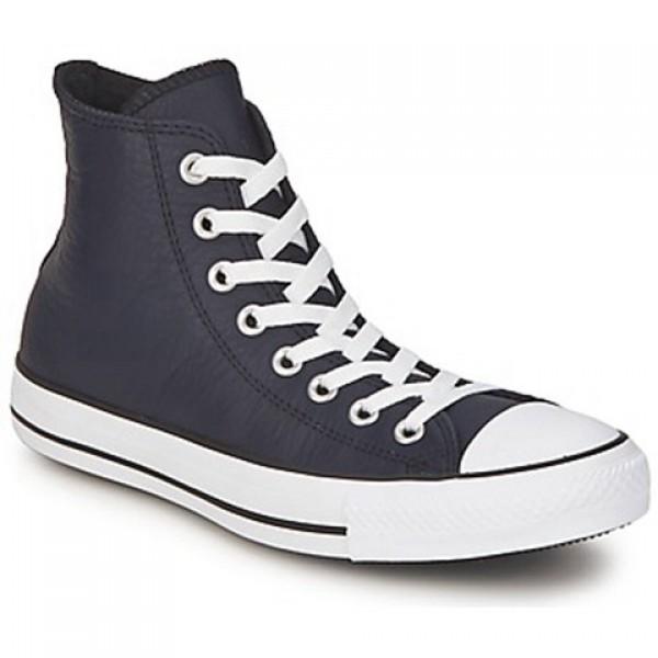 Converse All Star Seasonal Leather Hi Deep Well Men's Shoes