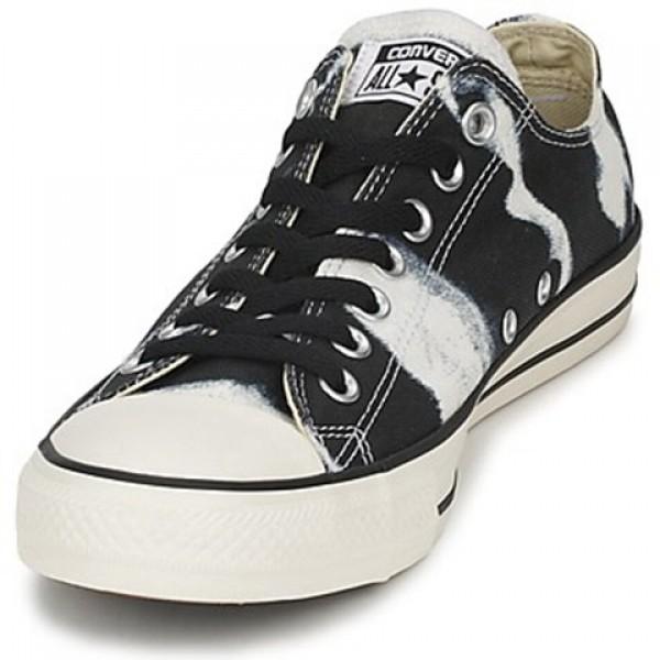 Converse All Star Bleach Black Men's Shoes