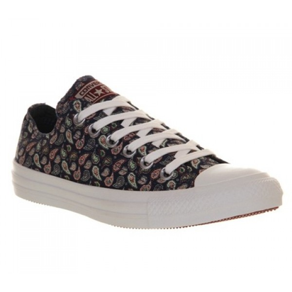 Converse All Star Low Paisley Women's Shoes