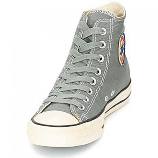 Converse Chuck Taylor Vint Twil Hi Grey Men's Shoes