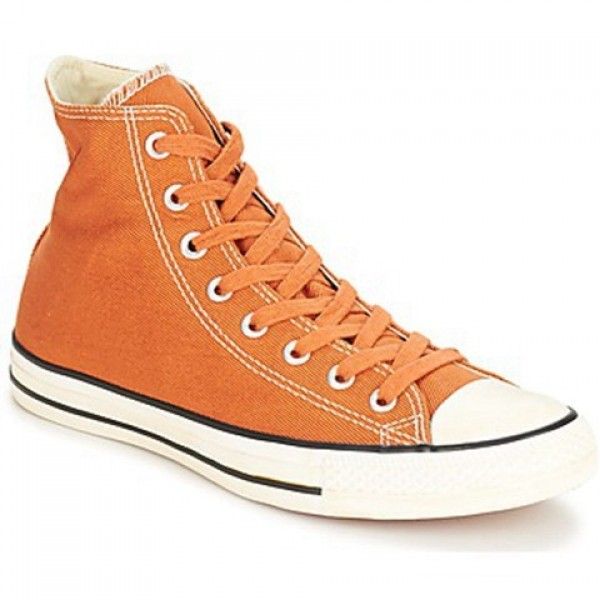 Converse Chuck Taylor Vint Twil Hi Rust Orange Men's Shoes