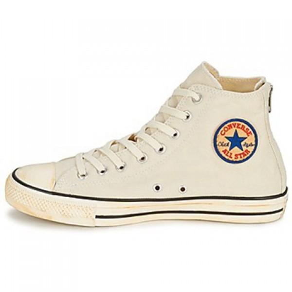 Converse Chuck Taylor Vint Twil Zp Ecru Men's Shoes