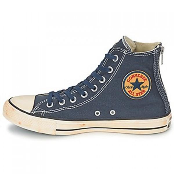 Converse Chuck Taylor Vint Twil Zp Marine Men's Shoes