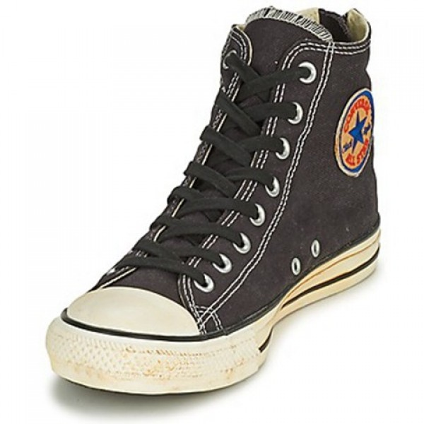Converse Chuck Taylor Vint Twil Zp Black Men's Shoes