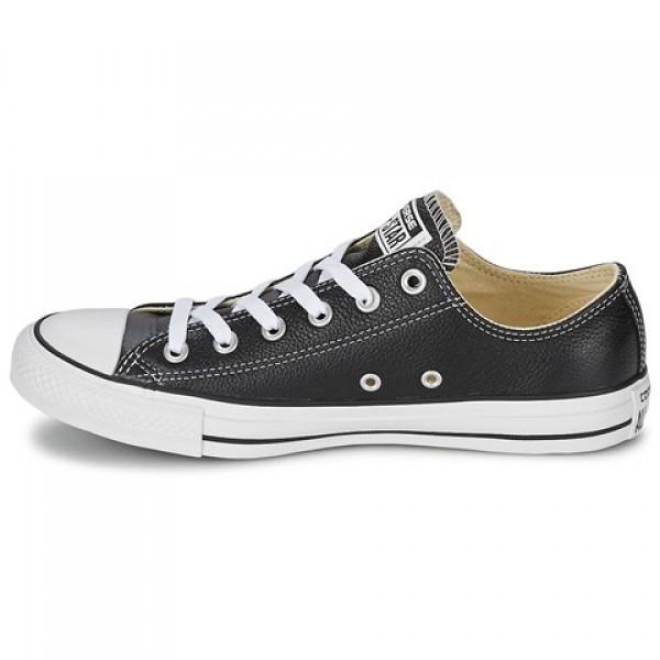 Converse Chuck Taylor Core Leather Ox Black Women's Shoes
