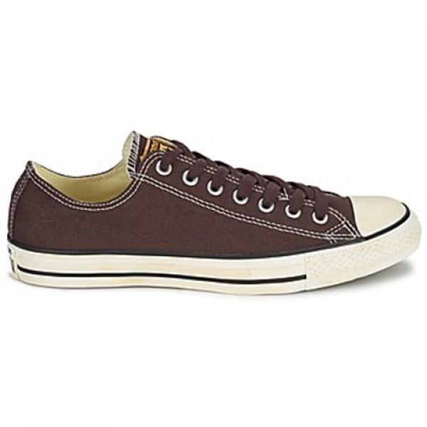 Converse Chuck Taylor Vint Twil Ox Chocolate Men's Shoes