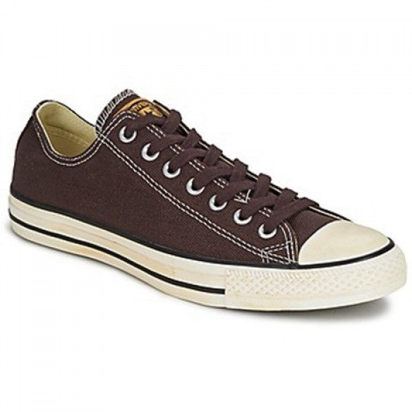 Converse Chuck Taylor Vint Twil Ox Chocolate Men's Shoes