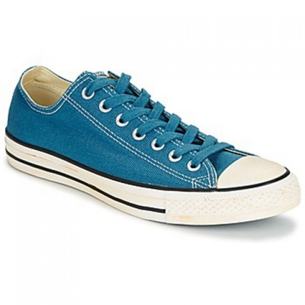 Converse Chuck Taylor Vint Twil Ox Blue Men's Shoes
