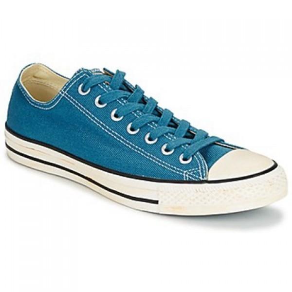 Converse Chuck Taylor Vint Twil Ox Blue Men's Shoes
