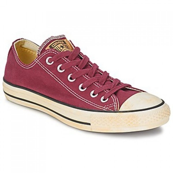 Converse Chuck Taylor Vint Twil Ox Bordeaux Men's Shoes