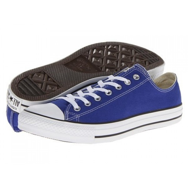 Converse Chuck Taylor All Star Seasonal Ox Radio Blue Men's Shoes